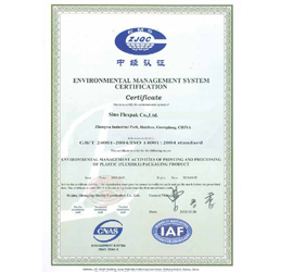 SINO ISO 24001 14001 (to 2015-10)